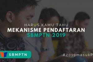 Pendaftaran SBMPTN 2019