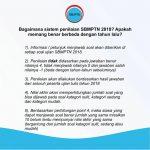 Sistem Penilaian SBMPTN 2018