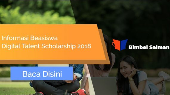 Beasiswa Digital Talent Scholarship 2018 Dari Kemenkominfo