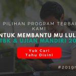 Program Intensif Sukses SBMPTN & Ujian Mandiri 2019