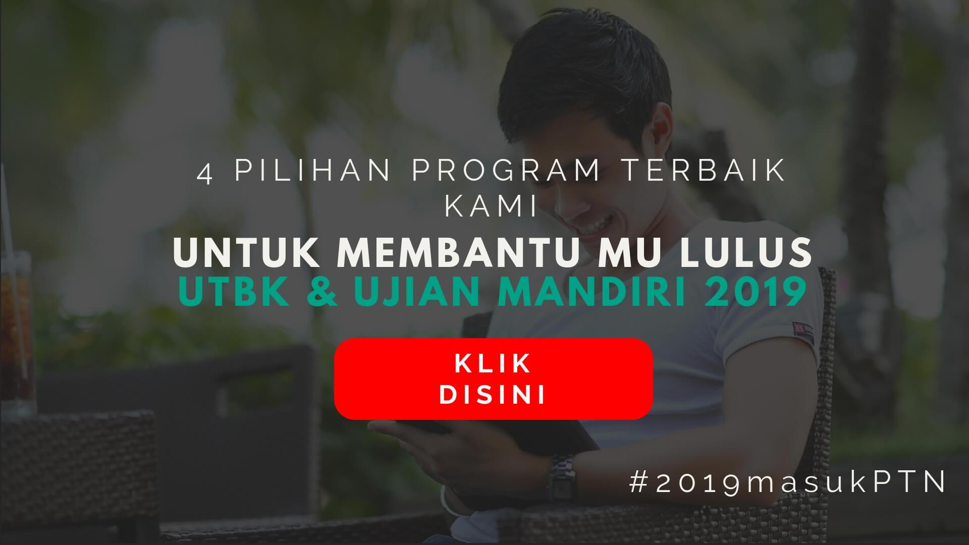 sukses sbmptn 2019