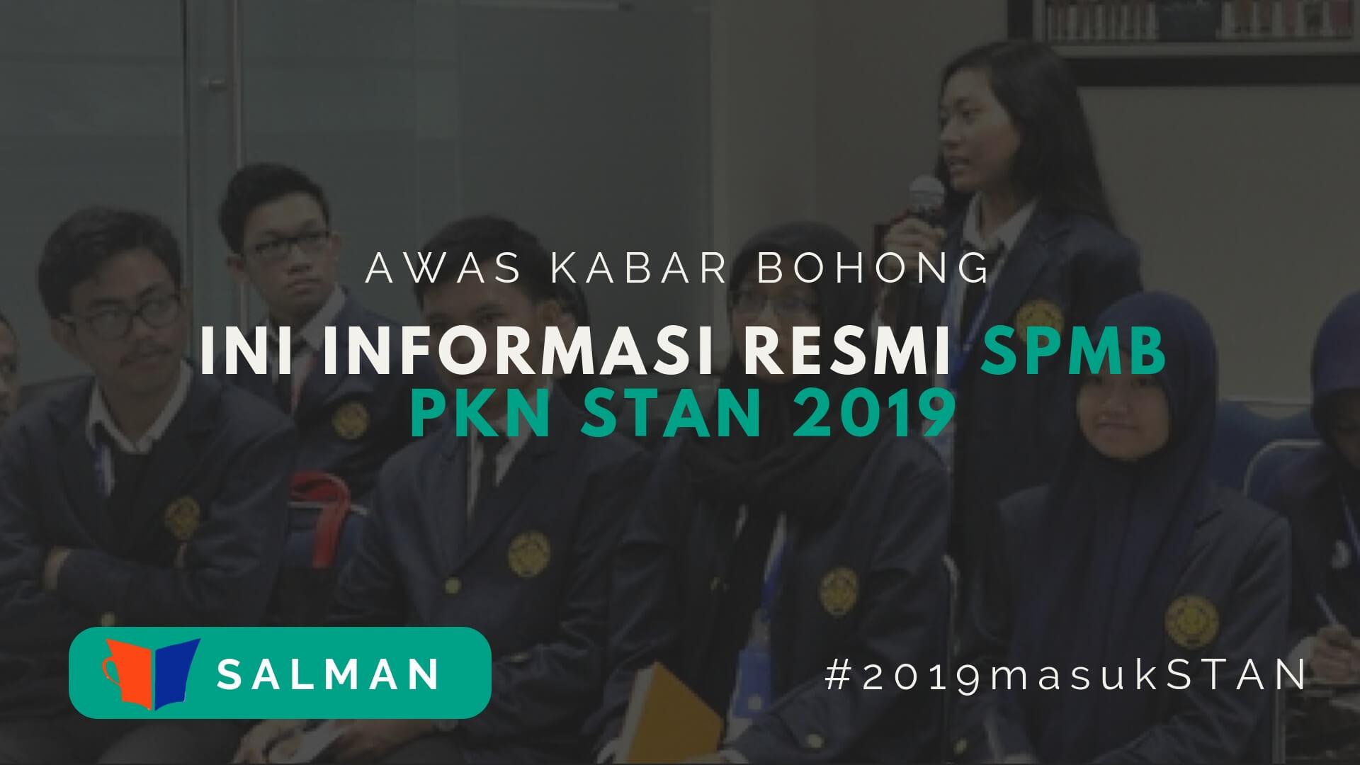 SPMB PKN STAN 2019