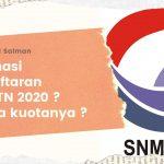 Alur Pendaftaran SNMPTN dan Kuotanya Bisa Kamu Ketahui Disini