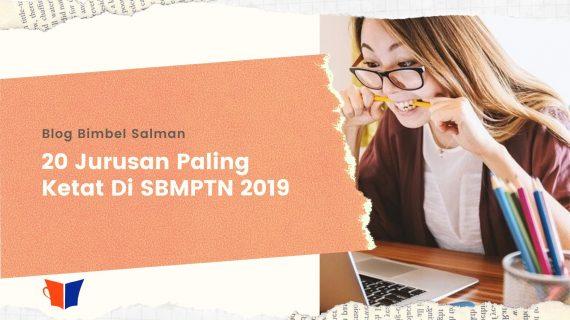 20 Jurusan Paling Ketat Di Saintek & Soshum SBMPTN 2019