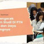 Cara Cek Program Studi & Daya Tampungnya Di SBMPTN 2020
