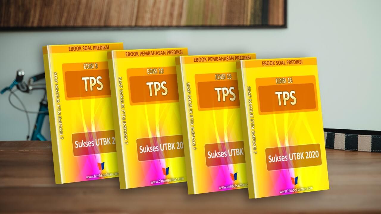 Mock up soal tps edisi 9 - 16