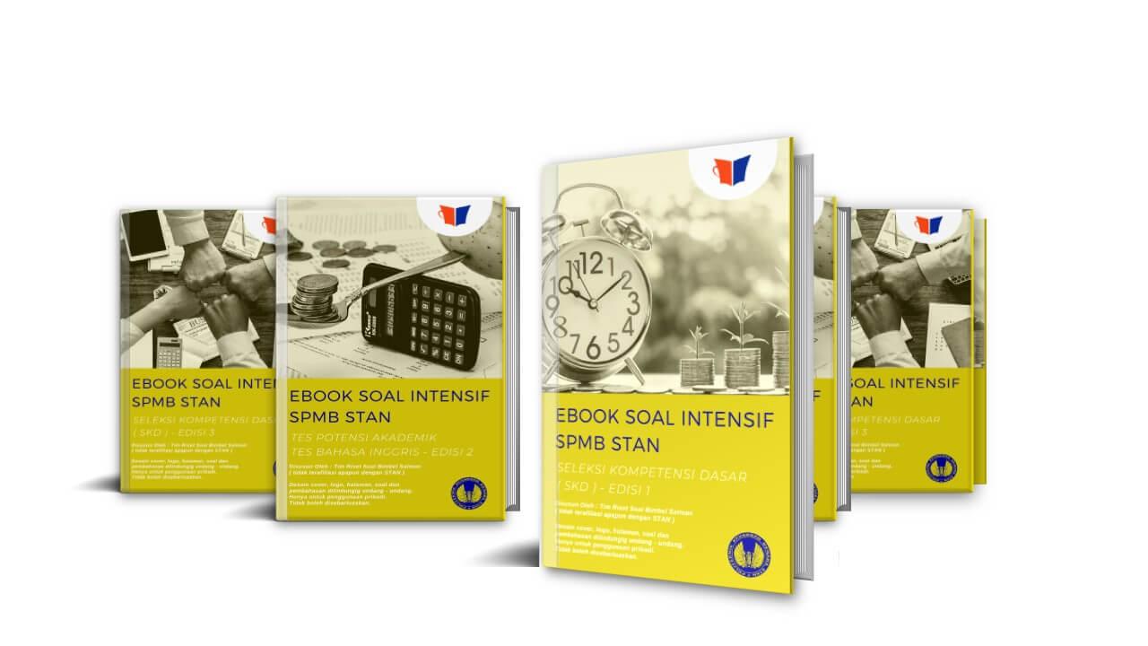 Paket eBook Soal Prediksi SPMB STAN 2020 | Bimbel Salman
