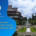 Jumlah Penerimaan Mahasiswa Baru Institut Teknologi Bandung (ITB) 2020