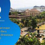 Jumlah Penerimaan Mahasiswa Baru Universitas Brawijaya 2020