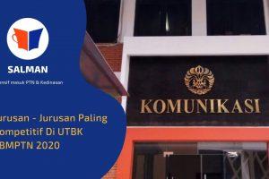 Jurusan - Jurusan Paling Kompetitif Di UTBK SBMPTN 2020 (1)
