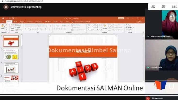 dokumentasi SALMAN Online