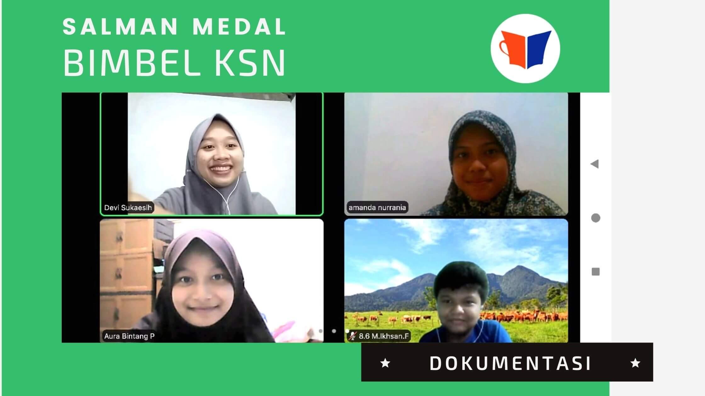Dokumentasi Salman Medal MTsN 29 Jakarta Timur
