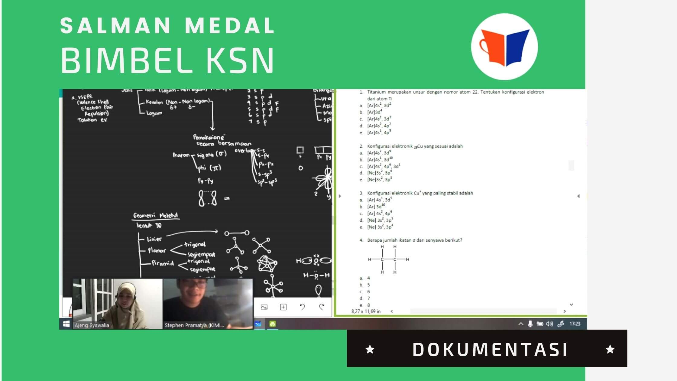Dokumentasi Salman Medal Stephen