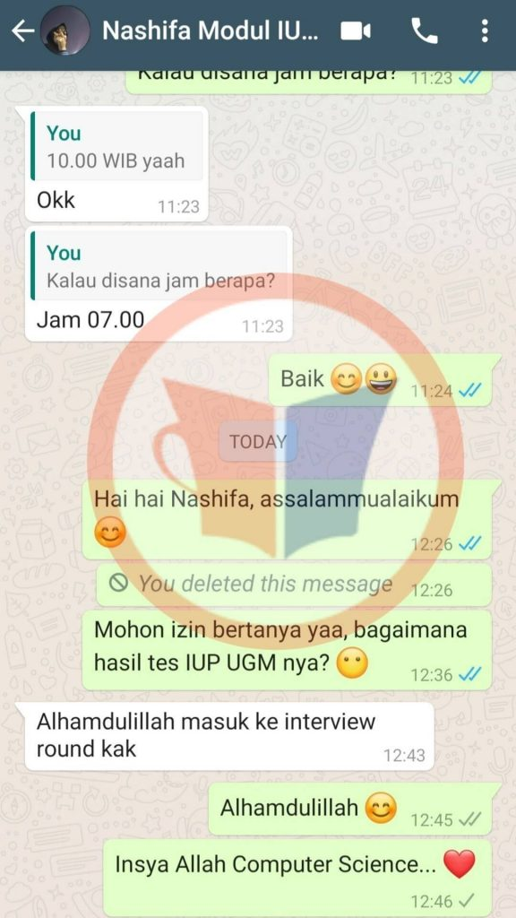 Testimoni IUP UGM Nashifa